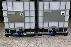 Tankverbindung DN50 S60x6 nebeneinander - für 2 Tanks (Tanks sind nicht im Angebot enthalten)