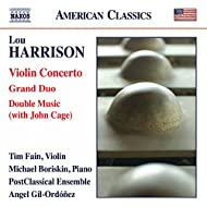 Harrison: Violin Concerto, Grand Duo & Double Music