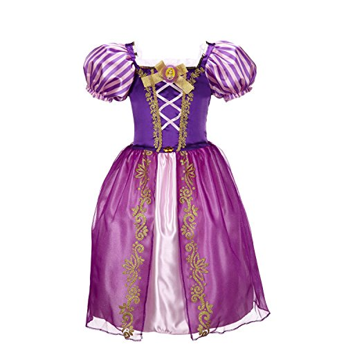 Ana Banana Paris : Robes de Princesse (6 Ans, Raiponce)
