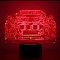 Nueva Bmw 3D Colorido Led Pequeña Luz De Noche Hogar Inteligente Usb Poder Atmósfera Niño Juguete
