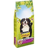 Friskies Vitafit Maxi : au Bœuf - 18 KG - Croquettes pour Chien Adulte de Plus de 25 kg