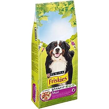 Friskies Chien Maxi Croquettes pour chien adulte Mix Viandes 18 kg
