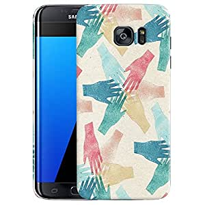 Hand Marks Back cover Samsung Galaxy S7 Edge