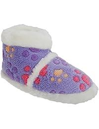 Universal Textiles - Zapatillas de estar por casa para niña