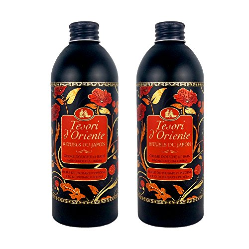 Tesori d'Oriente gel / crema de ducha / baño ritual hidratante 500 ml Japón - Conjunto de 2