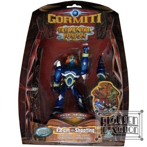 Gormiti Elemental Fusion 12cm Figure: Toby mit Schu�funktion