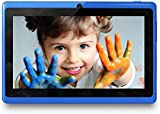 Yuntab 7 Inches 8G Q88 Allwinner A33 Quad-core Tablet PC Google Android 4.4 Google Play Pre-loaded, External 3G 3D-Game Supported 5 Point Screen Capacitive 1024*600 Multi Touch with Dual Camera