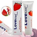 Gleitgel, Aqua Gleitgel Peaches Fruchtgeschmack Gleitmittel, Lubricant gel, 100% Sicher Vaginal und Anal oder mit Sexspielzeug, Spendet Feuchtigkeit, Lindert Vaginale Trocknenheit, 100ml
