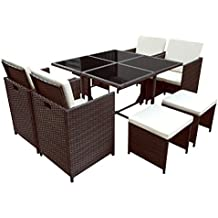 suchergebnis auf f r gartenm bel rattan wetterfest. Black Bedroom Furniture Sets. Home Design Ideas