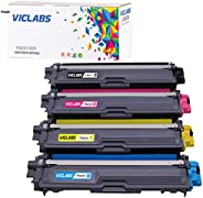 VICLABS Compatible TN221 TN225 Toner Cartridge Replacement for Brother TN225 TN221 Toner for Brother MFC-9330C