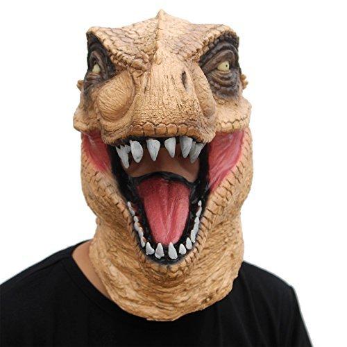 Halloween Kostüm Party Tierkopf Maske Dinosaurier ()