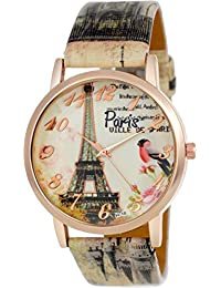 Maan International Paris Effil Tower Edition Funcky Watches For Girls & Womens