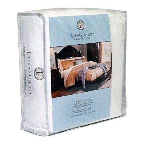 Eco Living Friendly Sleep Safe X luxguard Bettwanzen, Staub Milben, und allergensichere Matratze umgreifung/Allergy Protector Reißverschluss-Cover, Mikrofaser, weiß, King 15