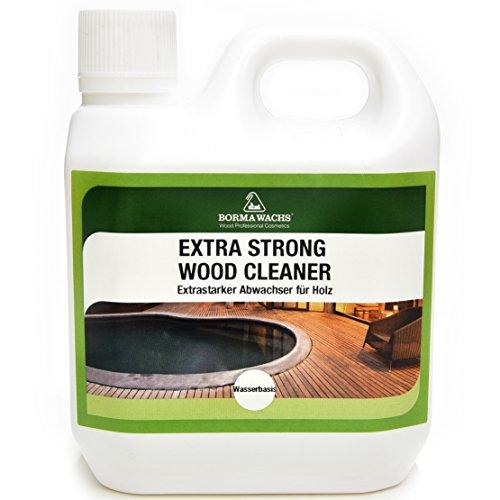 Borma Wachs 1 L PROFI Holz Intensivreiniger im Außenbereich