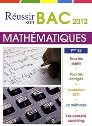 Mathématiques Tle ES obligatoire et spécialité
