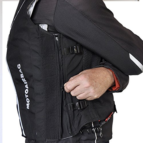 Motoairbag v2.0 C Chaleco Airbag trasero y frontal
