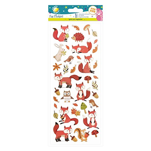 fun-stickers-woodland-creatures
