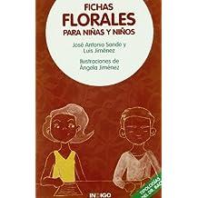Fichas florales para niñas y niños
