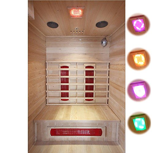 Home Deluxe Redsun M Infrarotsauna | inkl. Keramikstrahler, vielen Extras und komplettem Zubehör | verschiedene Varianten -