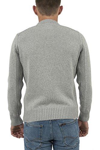 Schott (Brand National) Herren Sport Pullover Grau