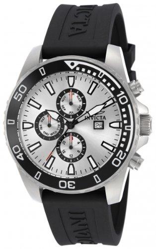 Invicta Invicta Specialty 10920 - Reloj cronógrafo de Cuarzo para Hombre, Correa de plástico Color...