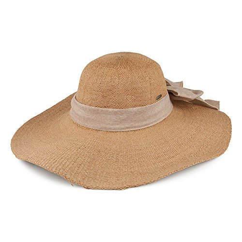 scala-hats-big-brim-sun-hat-with-linen-bow-tan-adjustable