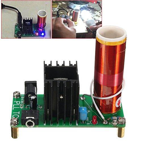 Preisvergleich Produktbild bestweekend 15W Tesla Coil Plasma Musik Wireless Power Durch Air Horn Beleuchtung