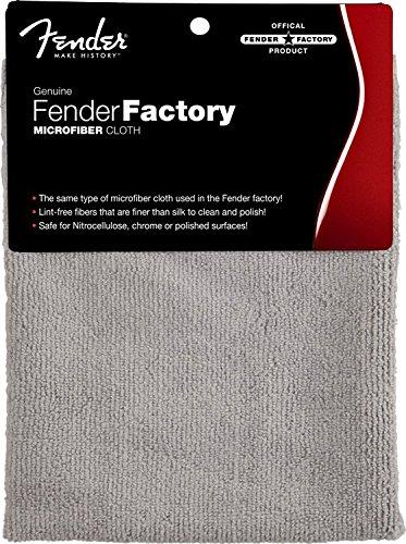 Fender 099-0523-000 Factory Microfiber Cloth - Politurtuch (Tuch Violine)