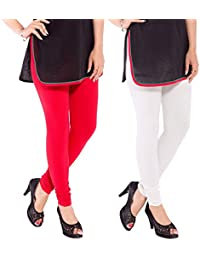 Comfortable & Stretchable Cotton Leggings (pack of 2)