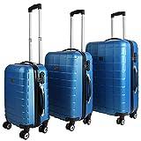 Set-de-3-valises-tui-rigide-avec-verrou-pour-business-voyage-bleu
