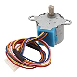 DC 12V 5mm Welle Dia 5-Wire-Getriebe Micro Stepper Schrittmotor