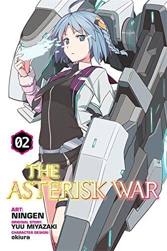 The Asterisk War, Vol. 2 (light novel): Awakening of Silver Beauty por Yuu Miyazaki