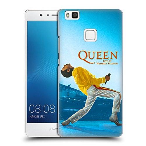 Ufficiale Queen Freddie Mercury Live At Wembley Arte Chiave Cover Retro Rigida per Huawei P9 lite / G9 Lite