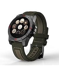 Smart Watch, Resistente Al Agua Bluetooth Pulsera Inteligente con Sensor de ritmo cardíaco, Pulsera inteligente Smartwatch con Monitor de Dormir/ Contador De Pasos/Reloj Compatible con iOS, Android Smartphone