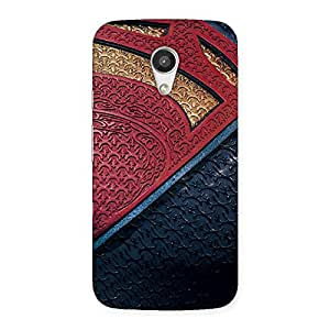 Day suit Multicolor Print Back Case Cover for Moto G 2nd Gen