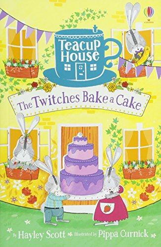 The Twitches Bake a Cake (Teacup House) por Hayley Scott