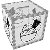 Preisvergleich für Azeeda 'Eis' Klar Sparbüchse / Spardose (MB00057761)