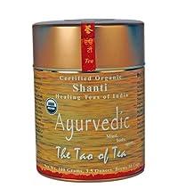 The Tao of Tea Ayurvedic Tea Shanti, Certified Organic, 3.5-Ounce Tins (Pack of 3)
