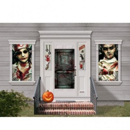Amscan Sinister Surgery 33 Piece Mega Value Halloween Decorating Kit by Amscan