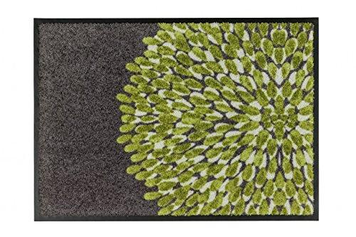 Fußmatte Schöner Wohnen Broadway Blume Grün in 2 Größen