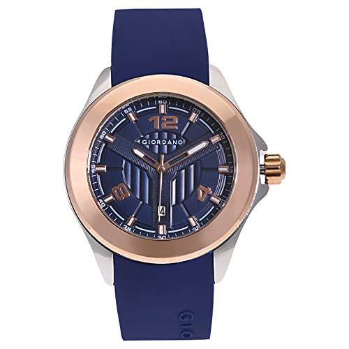 Giordano Analog Blue Dial Men's Watch - A1066-06