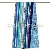 Bassetti - bassetti granfoulard telo arredo ravello v3 blu - 4 misure - 180x270