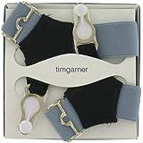 Men's Sock Suspenders (SKS21)- Grey
