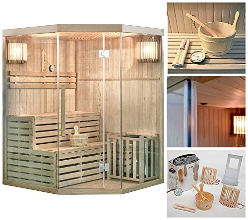 Home Deluxe - Traditionelle Sauna - Skyline XL