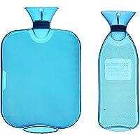 Gummi Hot Water Bag 2Pack 2L + 1L, für Heizung lindert Müdigkeit, lindert menstruationskrämpfen TPU Transparent... preisvergleich bei billige-tabletten.eu