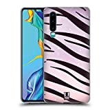 Head Case Designs Tiger Fad Animal Prints Soft Gel Case Compatible for Huawei P30