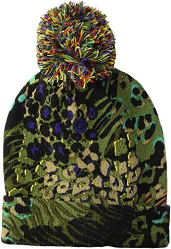 Desigual Damen HAT_Animals Hut für kaltes Wetter, Musgo, U (Wetter Damen Hut Kaltem)