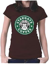 Stargate SGC Starbucks Coffee Women's T-Shirt