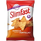 SlimFast Barbecue Tortilla Snack Bag 22g - Pack of 12