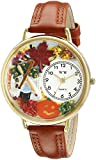 Whimsical Watches Unisex G1213001 Autumn Leaves Tan Leather Watch best price on Amazon @ Rs. 1881